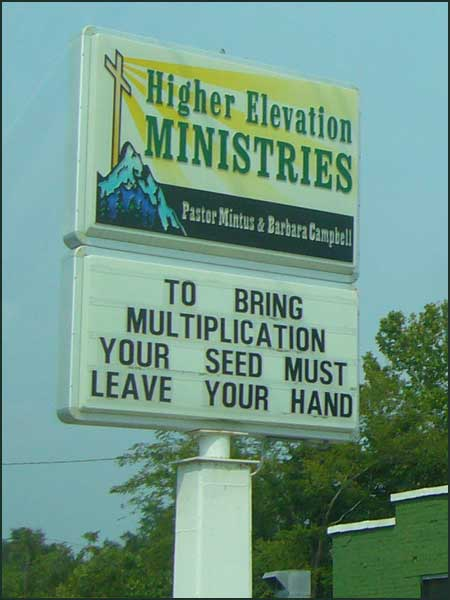 Your seed must leave your hand