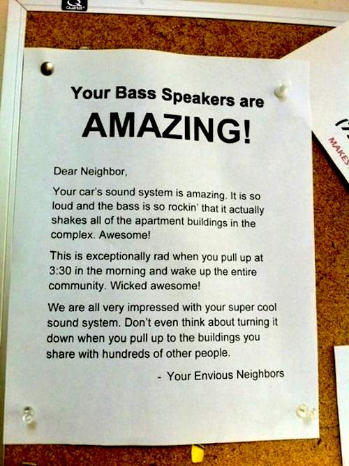 Your Bass Speakers are AMAZING!