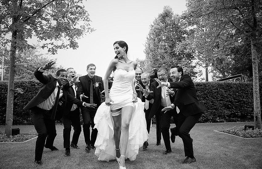 Groepsfoto's huwelijk