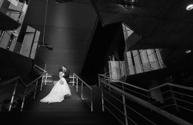 zwart wit Huweliijk fotograaf