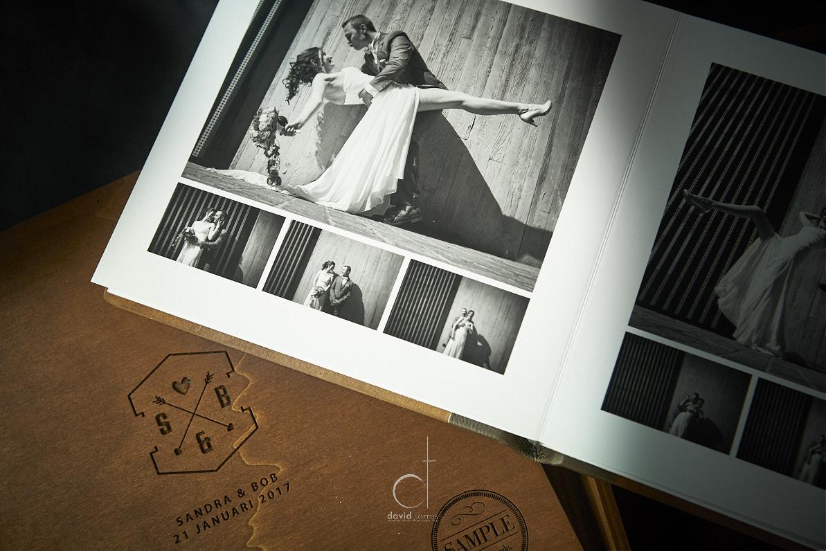 vintage antiek fotoboek huwelijk