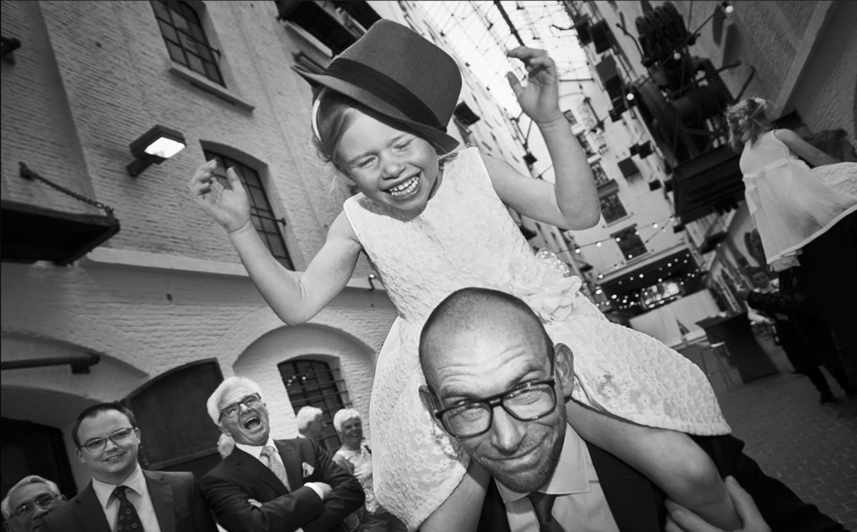 huwelijksfotografie zwart wit
