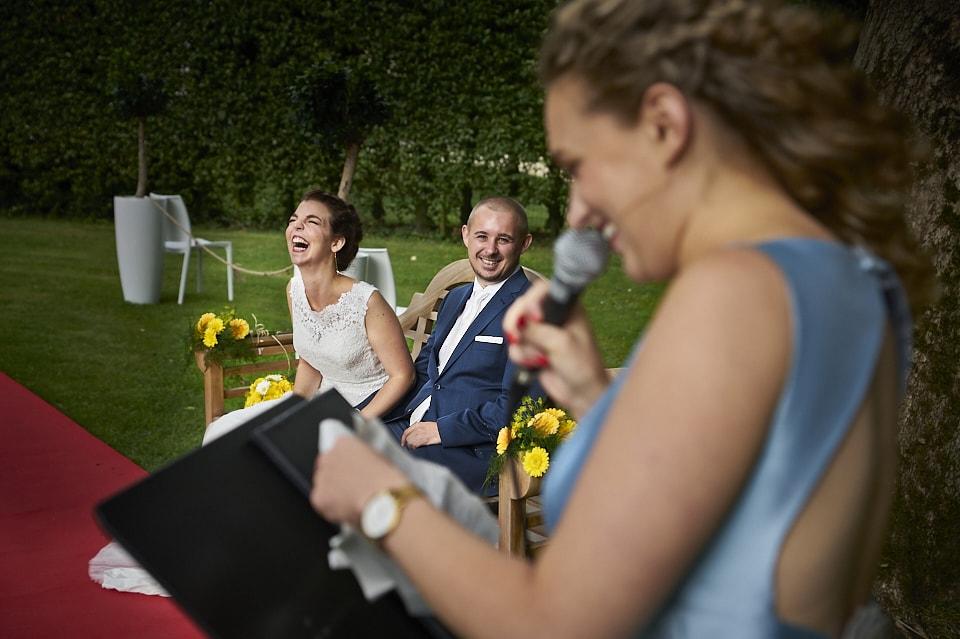 Huwelijksfotograaf spontaan