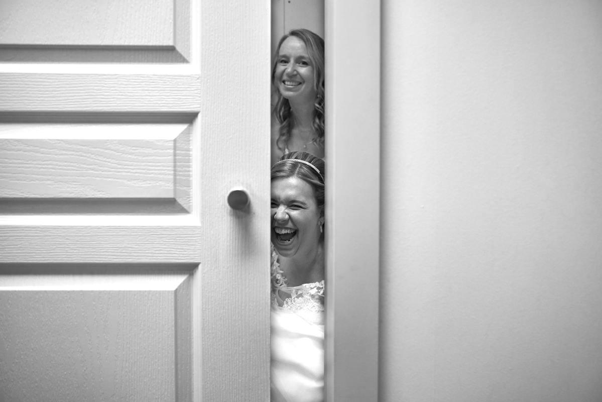 zwart wit bruidsfotograaf