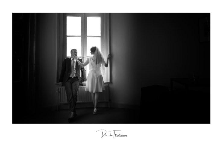 zwart wit huwelijksfotografen