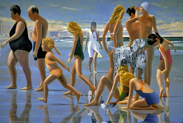 """David Ahlsted - """"Life Stages"""" Oil on Canvas, 40 x 60"""" - SOLD"""