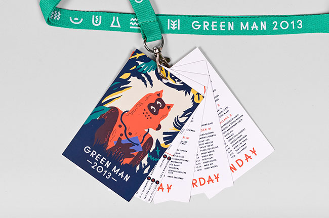 Green Man identity design