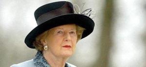 Baroness (Margaret) Thatcher