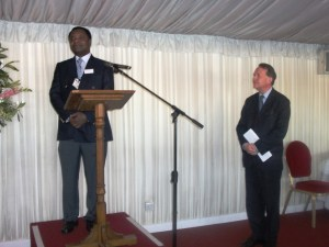 MOTEC reception at the House of Lords - with Dr.Paul Ofori-Atta, President of Motec.
