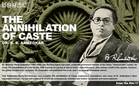 The Annihilation of Caste b y Dr.Ambedkar