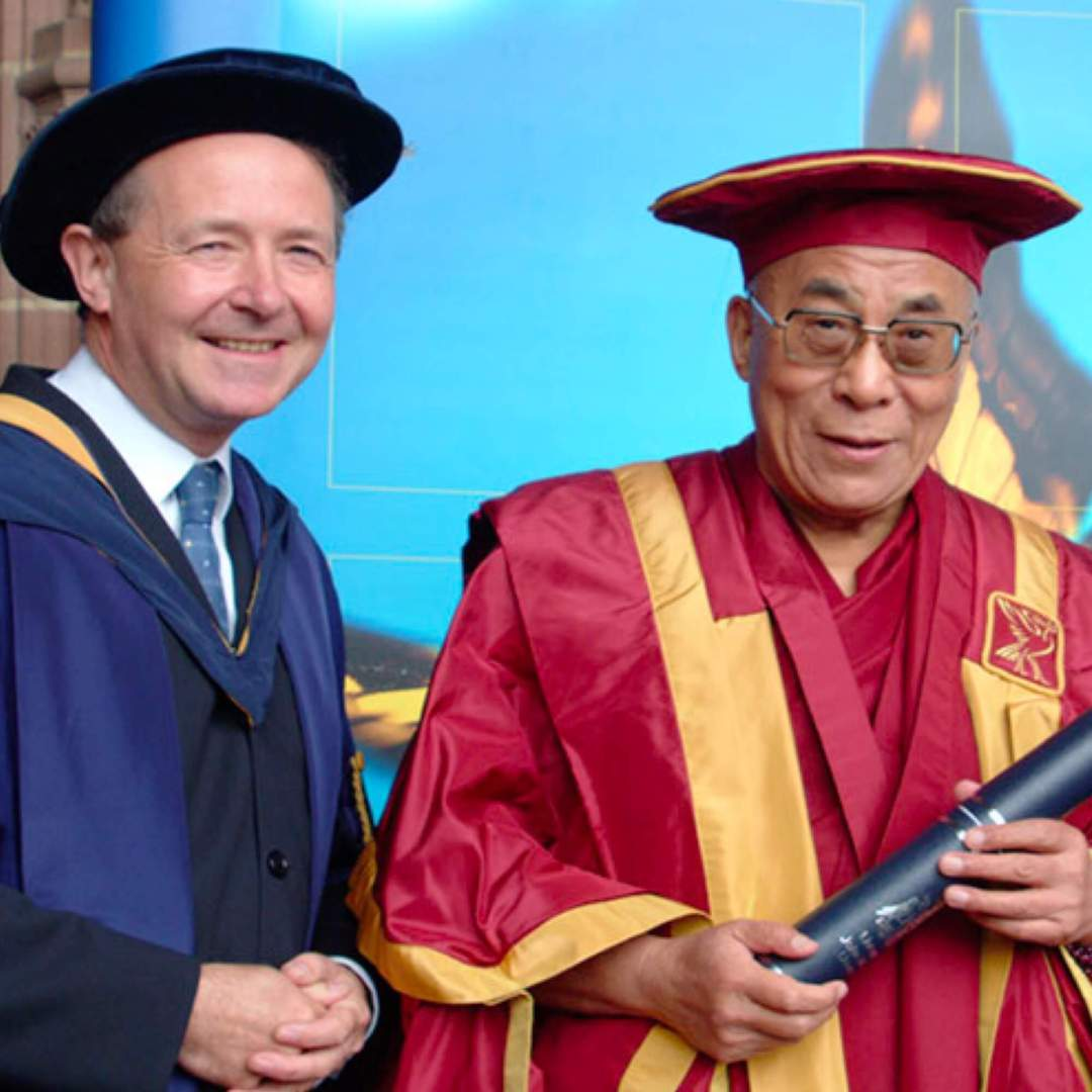 Lord Alton with the Dali Lama