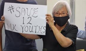 Grandma Wong was arrested today in Hong Kong for peacefully protesting in favour of democracy. It tells you all you need to know about her courage and all you need to know about CCP dictatorship.