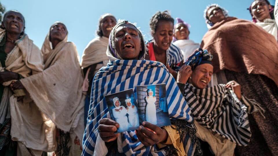 "November warning ""Tigray on the edge of Genocide"" ignored.Amnesty and Human Rights Watch Report on Atrocity Crimes in Tigray. On Tuesday Parliamentarians will challenge Ministers to say when the U.K. will be taking action at the UN Security Council following blocks by China and Russia after attempts by Ireland to raise it."