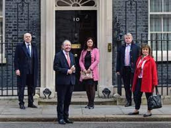 Johnson hosts MPs sanctioned by China in Downing Street display of support    Express & Star