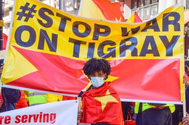 """U.K. Government pressed again about starvation in Tigray and says """"We are deeply concerned about the impact of the conflict on food security and nutrition in Tigray, including reports of people dying from hunger."""""""