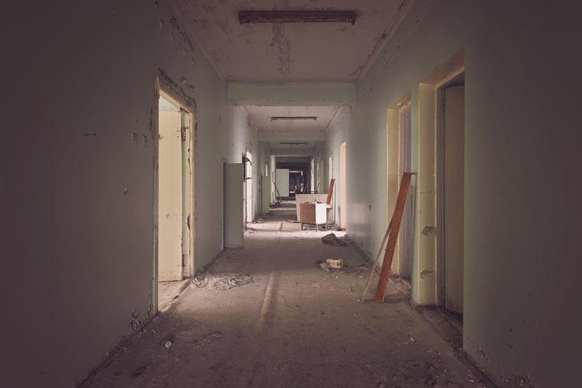 Pripyat Hospital (Chernobyl) (Ukraine)