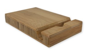 Wooden iPad Stand bamboo
