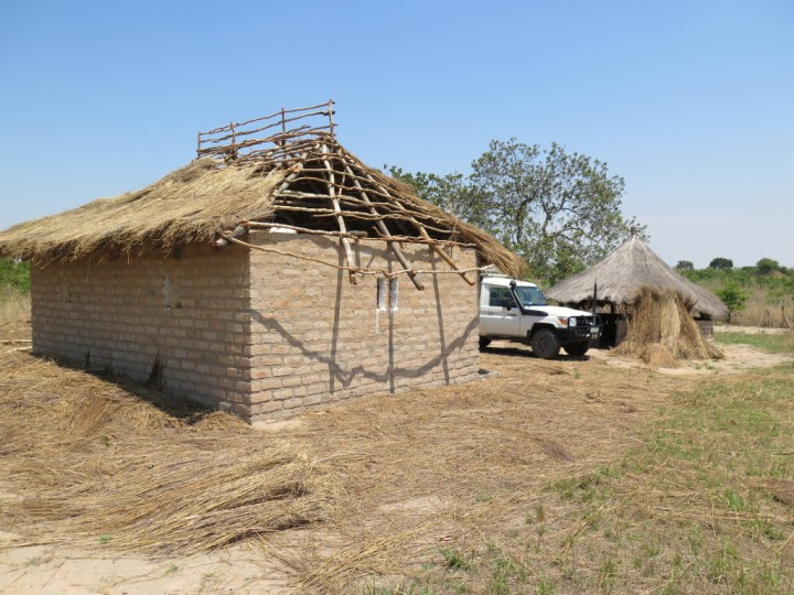 Working on getting thatch and repairs done to a replacement site in Southern Province