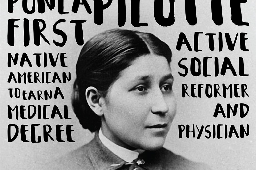 David Bernie Omaha Society Healer Susan La Flesche Picotte Indian Country 52 Week 44