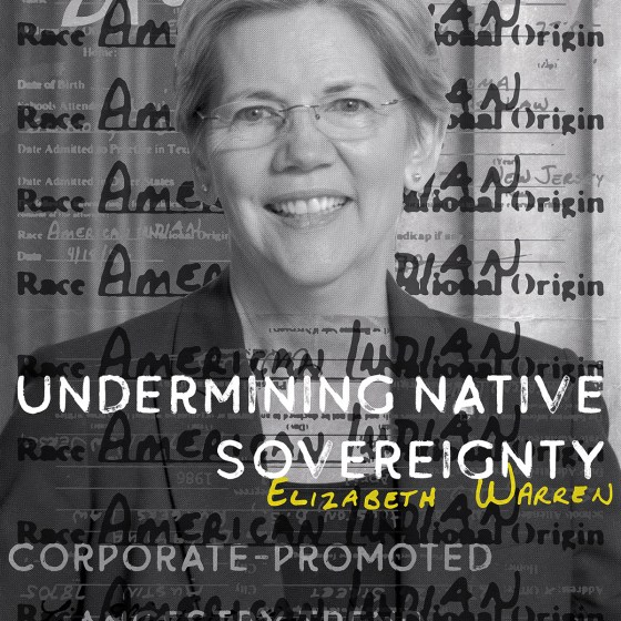 David Bernie Art Posters Print Indian Country 52 Undermining Tribal Sovereignty Elizabeth Warren