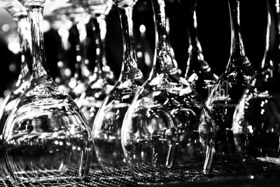 Lots of wine glasses, David Bickley Photography
