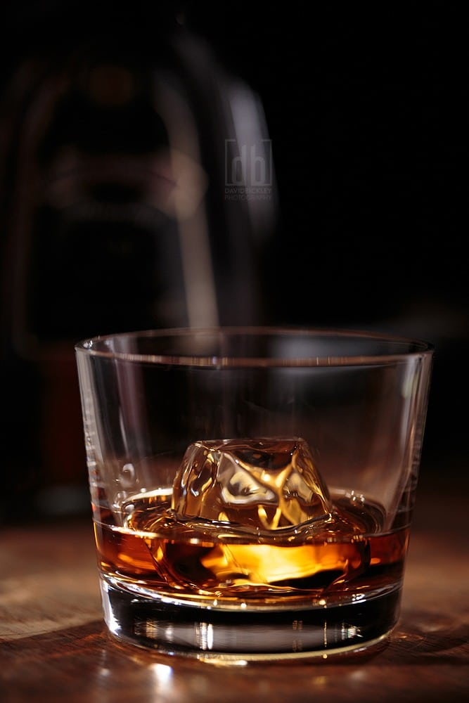 Just a Little Whiskey by David Bickley Photography