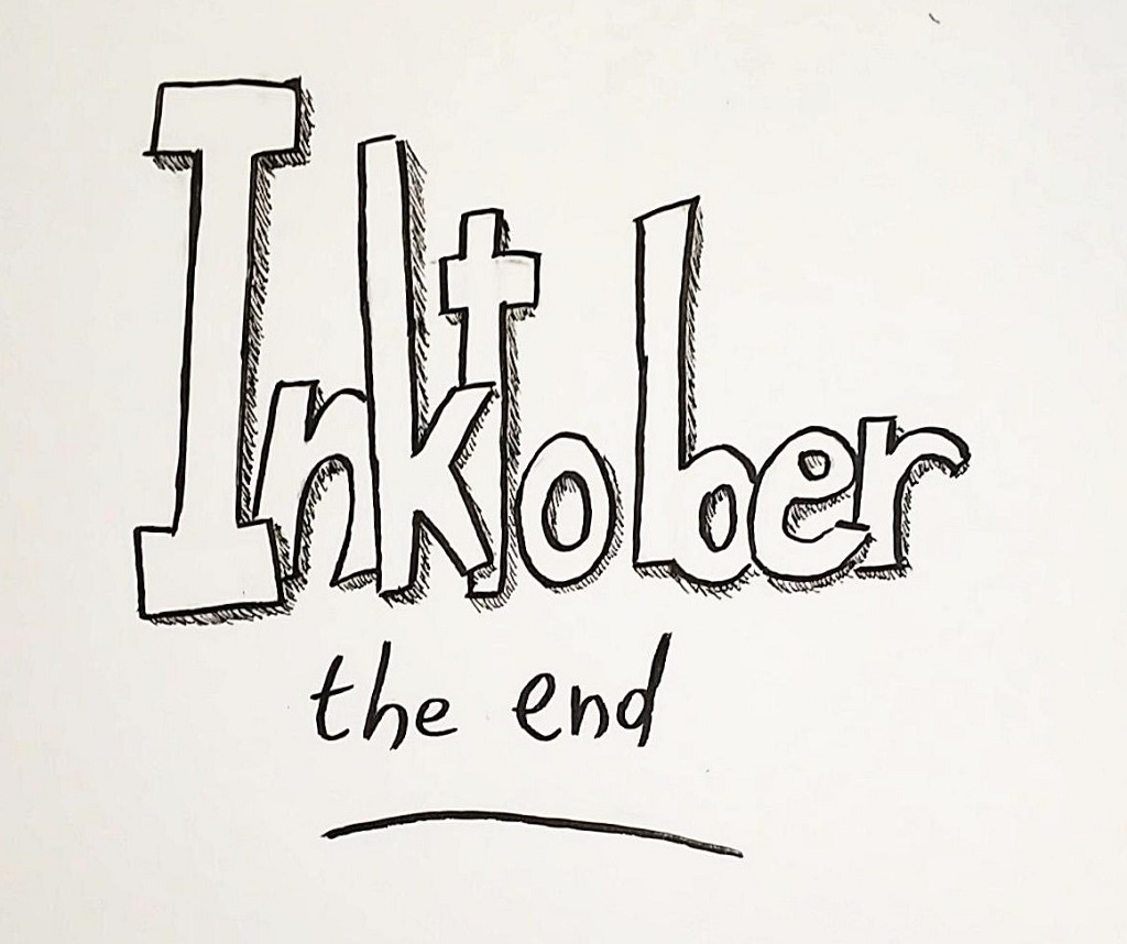 Inktober 2018 – The End