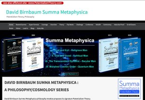 David Birnbaum Business Summa Metaphysica