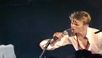 David Bowie – The Last Thing You Should Do (Live, Glasgow
