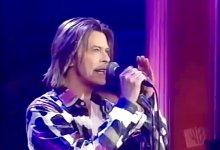 David Bowie – Thursday's Child, Rosie O'Donnell (17/11/1999)