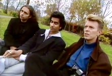 David Bowie, Naveen Andrews & Hanif Kureishi on working on The Buddha of Suburbia (1993)
