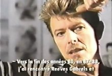 David Bowie Interviewed In 1995 (Canadian TV)