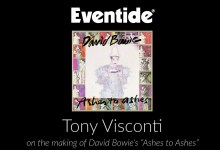 """Tony Visconti on the making of David Bowie's """"Ashes To Ashes"""""""