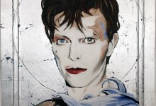 The David Bowie Collection of Artist Edward Bell Is Up For Auction, See It At A Free Exhibition In Llangollen, Wales.