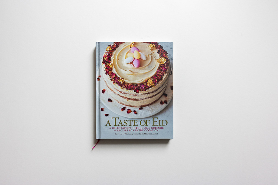 Photograph of the front cover of the book 'A Taste of Eid'