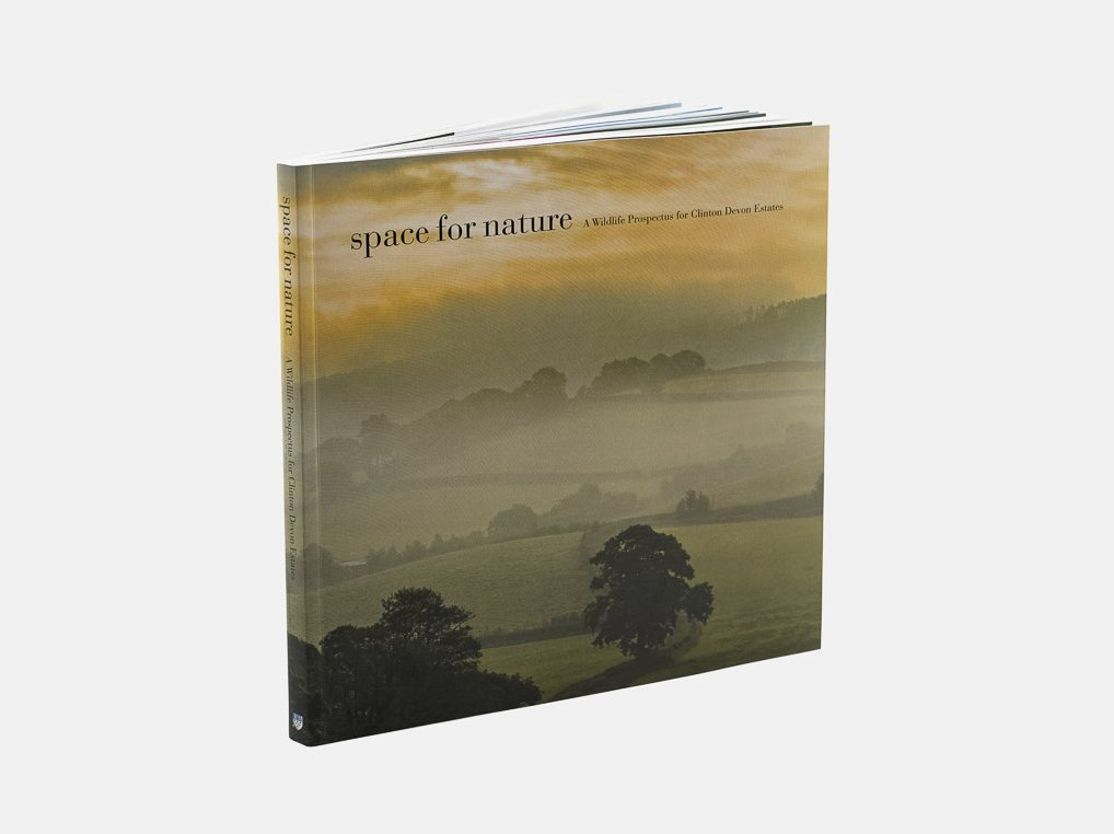 A photo of 'Space for Nature' a book I produced for Matthew Maran Photography and Clinton Devon Estates
