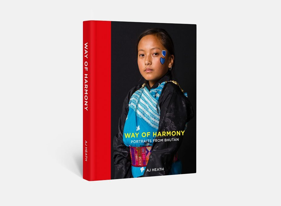 Packshot of Way of Harmony Portraits from Bhutan by AJ Heath