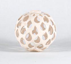 Ceramic 18  Circular Space Sculpture