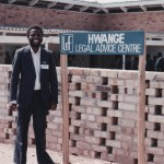 The opening of the Hwange Legal Advice Centre 1991