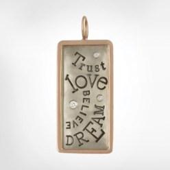 Trust Love Dream Believe Heather B Moore Charm