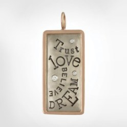 Trust Love Dream Believe Heather B Moore Charm