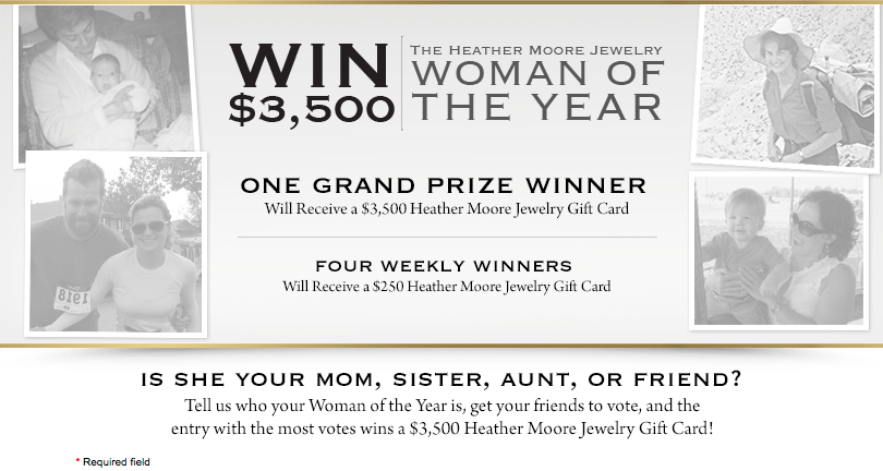Woman of the Year Sweepstakes