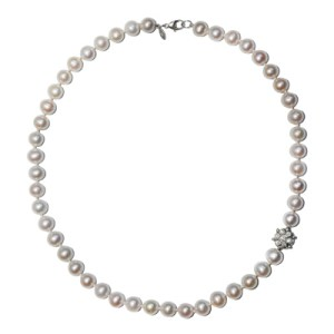 Anzie Boheme Bead Necklace Fresh Water Pearl
