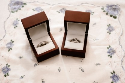 Dennis and Kelsey's rings
