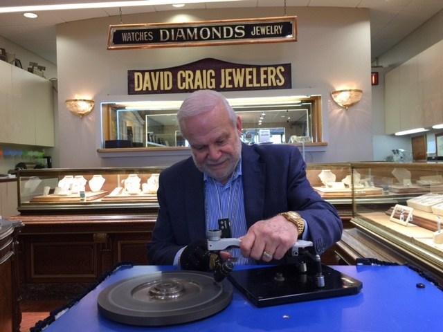 David at work