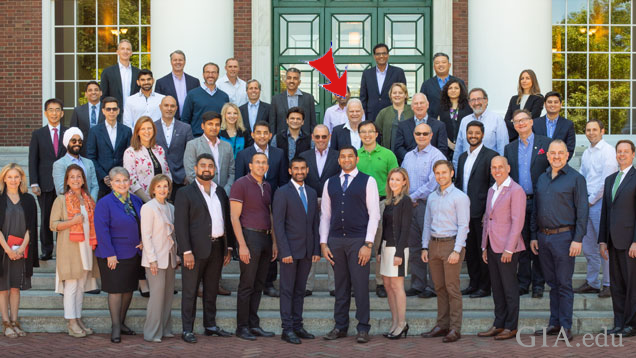 Photo from GIA: Alumni of the 2018 GIA Global Leadership Program at Harvard
