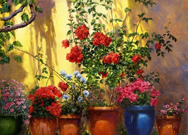 Flower Paintings Gallery