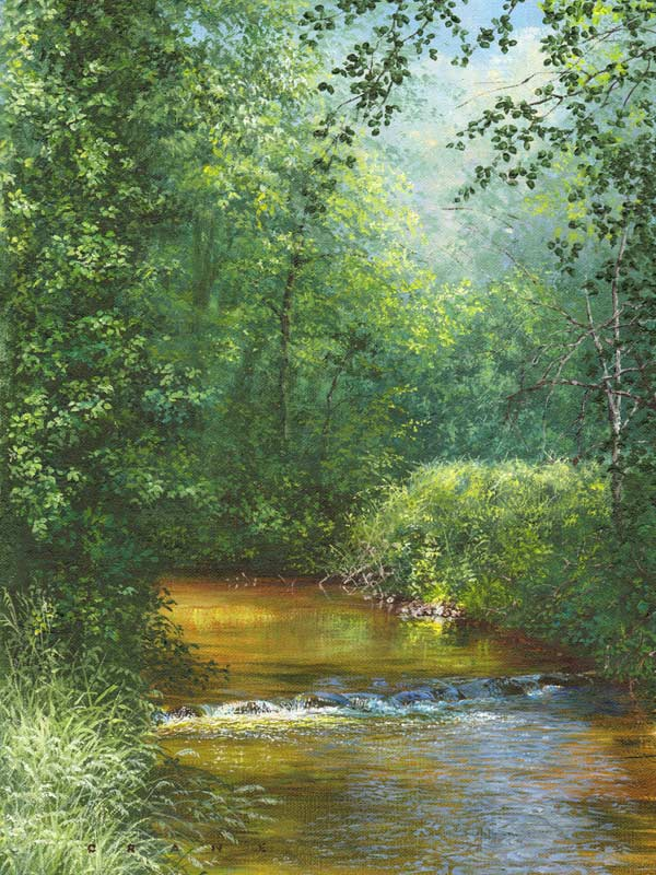Landscape Painting by artist David Crane