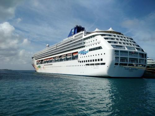 Norwegian Sky. Our cruise ship.