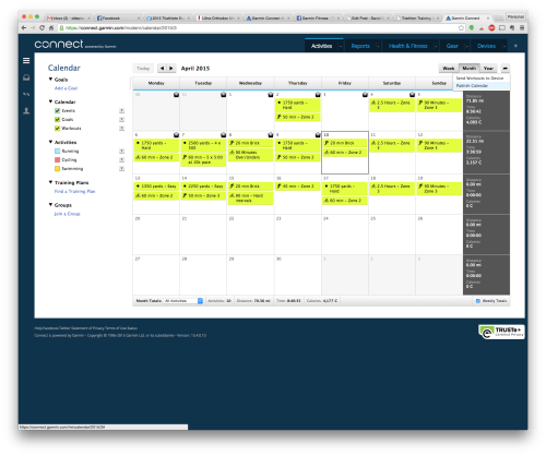 Get a calendar feed